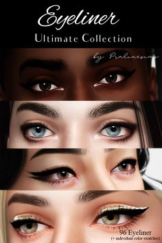sims 4 eyeliners * the sims 4 eyeliners , sims 4 eyeliners Sims 4 Mods Clothes, Sims 4 Clothing, Sims 4 Cas, Sims Cc, Sims 4 Cc Eyes, The Sims 4 Bebes, Sims 4 Body Mods, The Sims 4 Skin, Sims 4 Collections