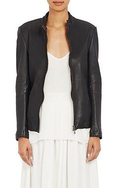 ATM Anthony Thomas Melillo Leather Moto Jacket - Jackets - 504599700