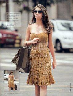 Eliana Lima - Louca por Linhas: Ouro puro!!! A edição nº 5 da revista Crochê, da Círculo está muito, muito linda!!! Com Receita e gráfico.
