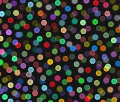 bokeh lights - Christmas Eve fabric by weavingmajor, available from Spoonflower