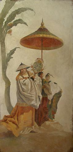 Demeures Peintes: Chinoiseries I