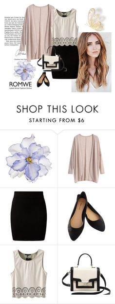 Romwe.com by alien-official on Polyvore featuring New Look, Wet Seal, Kate Spade and Universal Lighting and Decor