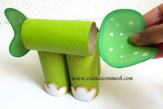 Manualidades para hacer con niños fáciles- bonitos y reciclando