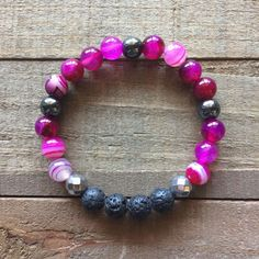 Lava stone has been used for its grounding properties for hundreds of years, by many cultures. Lava stones porous nature makes it ideal for an all-natural essential oil diffuser. Essential oil diffuser wrist mala bracelets combine the beauty of gemstones and crystals with the