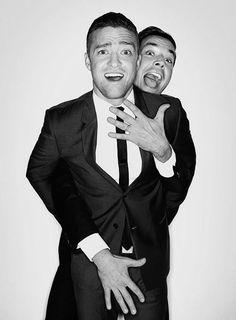 Justin Timberlake + Jimmy Fallon