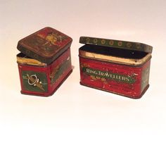 Two great little vintage tins £5.23 each