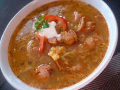 Frankfurt, Thai Red Curry, Dishes, Ethnic Recipes, Advent, Soups, Food, Red Peppers, Tablewares