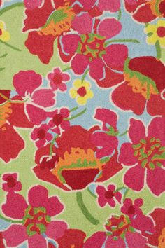 RugStudio presents Dash and Albert Power Poppies Hand-Hooked Area Rug, wool, no shedding, avg price point