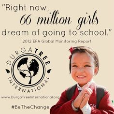 One donation felt around the world ~ www.durgatreeinternational.org