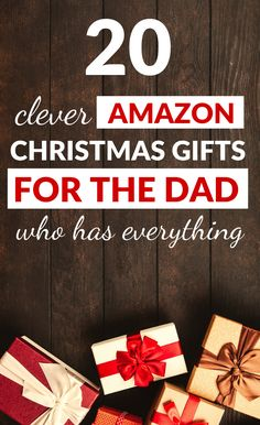 Christmas shopping for dad can seem hard. But when you're looking for Christmas gifts for dad, we've got you covered. Here's our Christmas present ideas. Amazon Christmas Gifts, Creative Christmas Gifts, Christmas Gifts For Coworkers, Thoughtful Christmas Gifts, Christmas Gifts For Him, Popular Christmas Gifts, Christmas Gift Guide, Thoughtful Gifts For Dad, Christmas Ideas