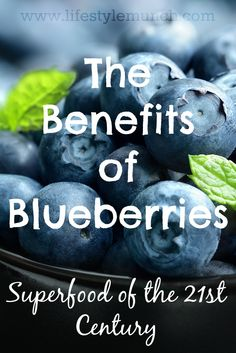 Blueberries are at their nutritional peak when eaten straight from the bush but that isn't always possible unless you're fortunate to grow your own.  (Source: http://www.lifestylemunch.com/the-benefits-of-blueberries-superfood-of-the-21st-century/)