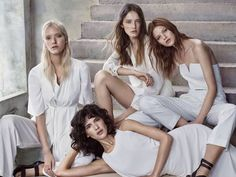 Italian fashion brand Kocca has released its spring-summer 2016 campaign photographed by Hunter & Gatti. Starring five models, the images spotlight light and breezy clothing perfect for the warm weather season. From crisp all white fashions to boho prints, the ensembles styled by Marina Gallo shine in the advertisements. / Hair by Paco Garrigues, Makeup...[Read More]