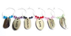 Karma - Swarovski Wine Glass Charms - Buy Wine Glass Charms Online UK
