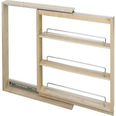Base Cabinet Filler Pullout. 3'' X 23'' X 30'' Featuring Soft-close Dura-close Slides BFPO3SC in