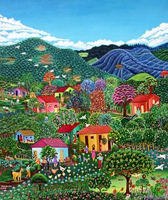 The Doves of Spring by Auramar (Aura Marina Pineda) of El Salvador
