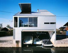 ArBoathouse. Location: In der Schanz, 6972 Fussach,  Austria;  firm: marte.marte; year: 2000