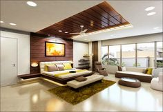 Residential Interior Designing Services - Bedroom Interior Designing Services Architect / Interior Design / Town Planner from Mumbai Study Interior Design, Modern Home Interior Design, Residential Interior Design, Interior Design Services, Interior Architecture, Interior Decorating, Interior Designing, Interior Ideas, Interior Designers In Delhi