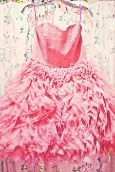 Pink dreamy dress from Betsey Johnson