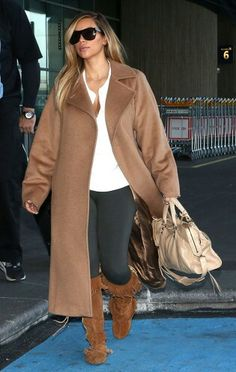 Kim kardashian neutral sandals and coats on pinterest