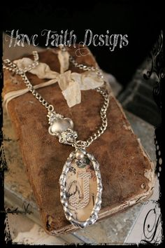 Elegance necklace by HaveFaithDesigns on Etsy