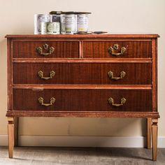 Aparador viejo Old Furniture, Repurposed Furniture, Furniture Makeover, Furniture Refinishing, Hacks Diy, Ikea Hacks, Chalk Paint, Wood Crafts, Dresser
