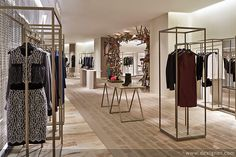 Most popular women's clothing stores design for women's clothing - boutique store design, retail shop interior design ideas Clothing Store Design, Womens Clothing Stores, Clothes For Women, Women's Clothing, Shop House Plans, Shop Plans, Shop Interior Design, Retail Design, Design Food