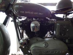 #Harley #sportster #warbike