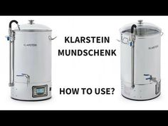 (4) Klarstein Mundschenk/Ace Micro Brewery/Hopcat/Bulldog - Homebrewing step-by-step 🍻🍻 - YouTube