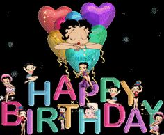 Create and share betty boop HAPPY birthday graphics and comments with friends. Best Happy Birthday Message, Happy Birthday Quotes, Happy Birthday Images, Happy Birthday Greetings, Birthday Wishes, Birthday Gifs, Birthday Stuff, Happy Birthday Betty Boop, Happy Birthday Sister