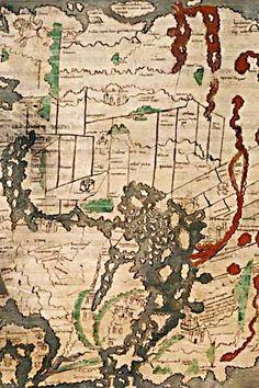 Anglo Saxon Map 1025-1050 C.E.