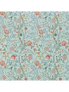 Buy Russet/Taupe, Morris & Co. Mary Isobel Wallpaper from our Wallpaper range at John Lewis & Partners. Liberty Wallpaper, Morris Wallpapers, Acanthus, William Morris, Accessories Shop, John Lewis, Taupe, Palette, Mary