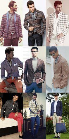 Mens Printed Blazer Lookbook