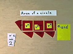 Red Area Material, Triangle to Squaring the Circle.wmv