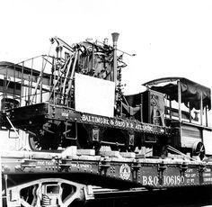 B railroad museum (Baltimore, MD)