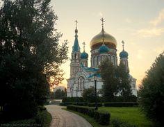 Omsk   Russia   Rusia   Siberia   Viajes  Transiberian   Catheral   Old Building