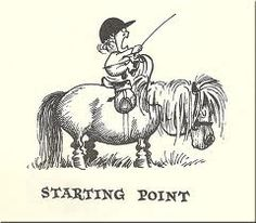 thelwell cartoon ponies -