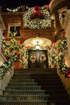 Dyker Heights Christmas Lights, Brooklyn, NY (Різдвяні вогні Дайкер Хейтс, Бруклін, Нью-Йорк)
