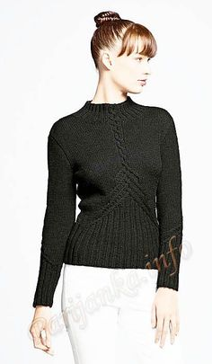 Pullover (g) 11 5 Origin Bergere de France   knitting   post