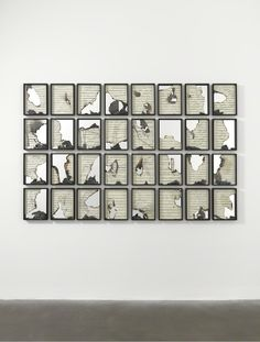 Douglas Gordon, 'Burnt Scores', 2011