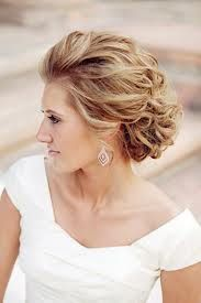 bridal updo with flower - Google Search