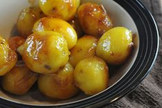 Caramelized potatoes (Travel by Stove: Recipes from Denmark)