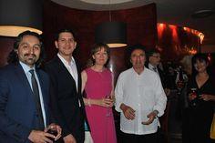David Miliband ve eşi Louise Miliband, Vatan Oz, Hüseyin Özer