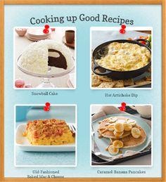 Find great recipes from Kraft. #cookingupgood #tastetheseason
