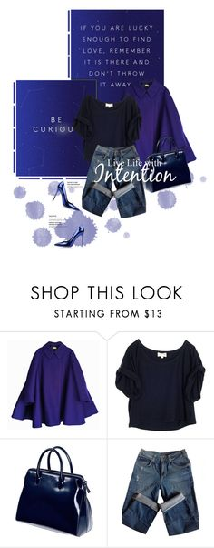 """Intention"" by finish ❤ liked on Polyvore featuring Acne Studios, Elizabeth and James, Sandro and Sergio Rossi"