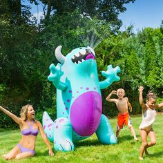 c3d3d3f5c06 This GIANT Monster Yard Sprinkler from BigMouth Inc is so fun, it's scary  Sprinkler,