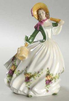 Royal Albert Figurines of the Year - ROSE-1960