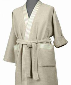 Peignoir Coton Nid d'Abeille Carré taille homme Phenix Lin Kimono, Fashion, Dress, Nest, Bee, Cotton, Moda, Fashion Styles, Kimonos