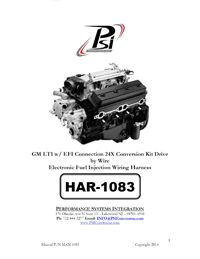 psi instructions | standalone wiring harness | ls wiring | ls wiring harness  | ecm | pcm | tcm | ls | ls1 | ls2 | ls3 | ls6 | ls7 | ls9 | lsa | vortec |  24x