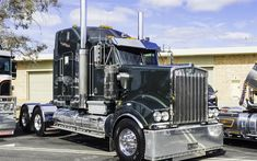 Download wallpapers Kenworth T904, Prime Mover, American truck, USA, classic, Kenworth