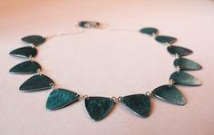 Digital Anodised Aluminium Necklace